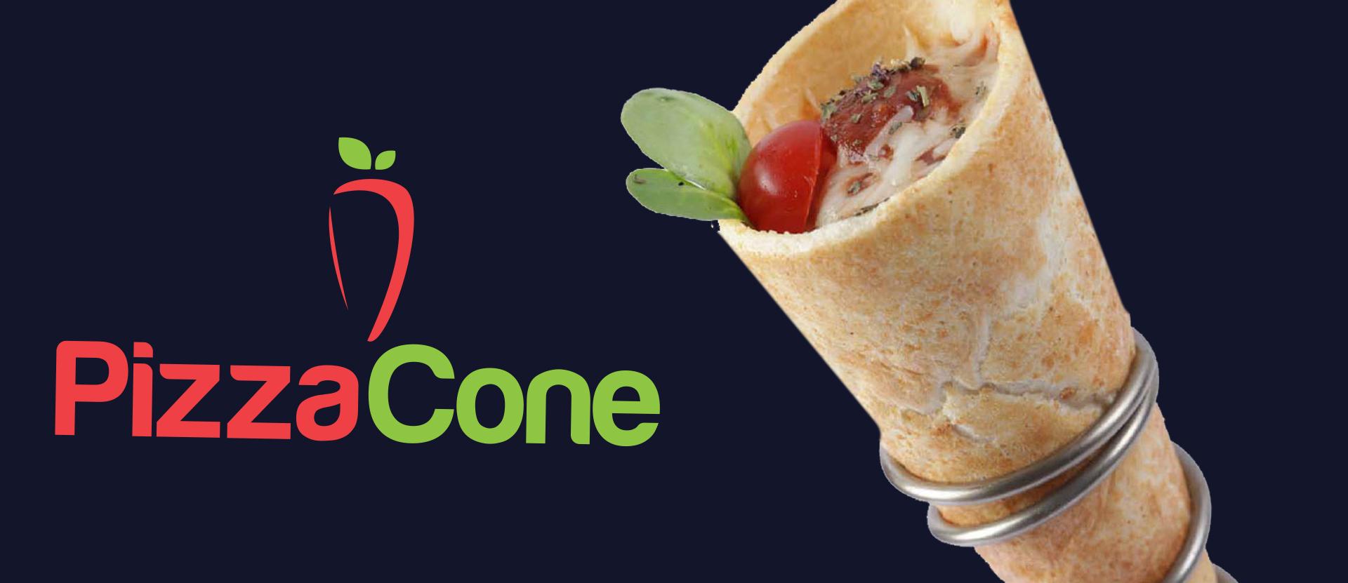 pizza cone banner